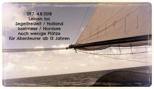 Wer will segeln gehen!
