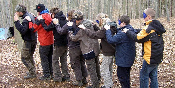 Gruppenleiterschulung der Naturschutzjugend im November